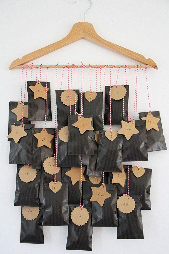 C'est bientôt Noël : Calendriers de l'Avent faits maison #calendrierdelaventfaitmaison