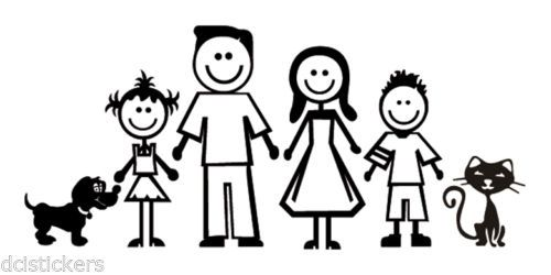 Pin De Cathy Ferreira En Stencil Imagenes De Familia Familia Dibujos Familia Silueta