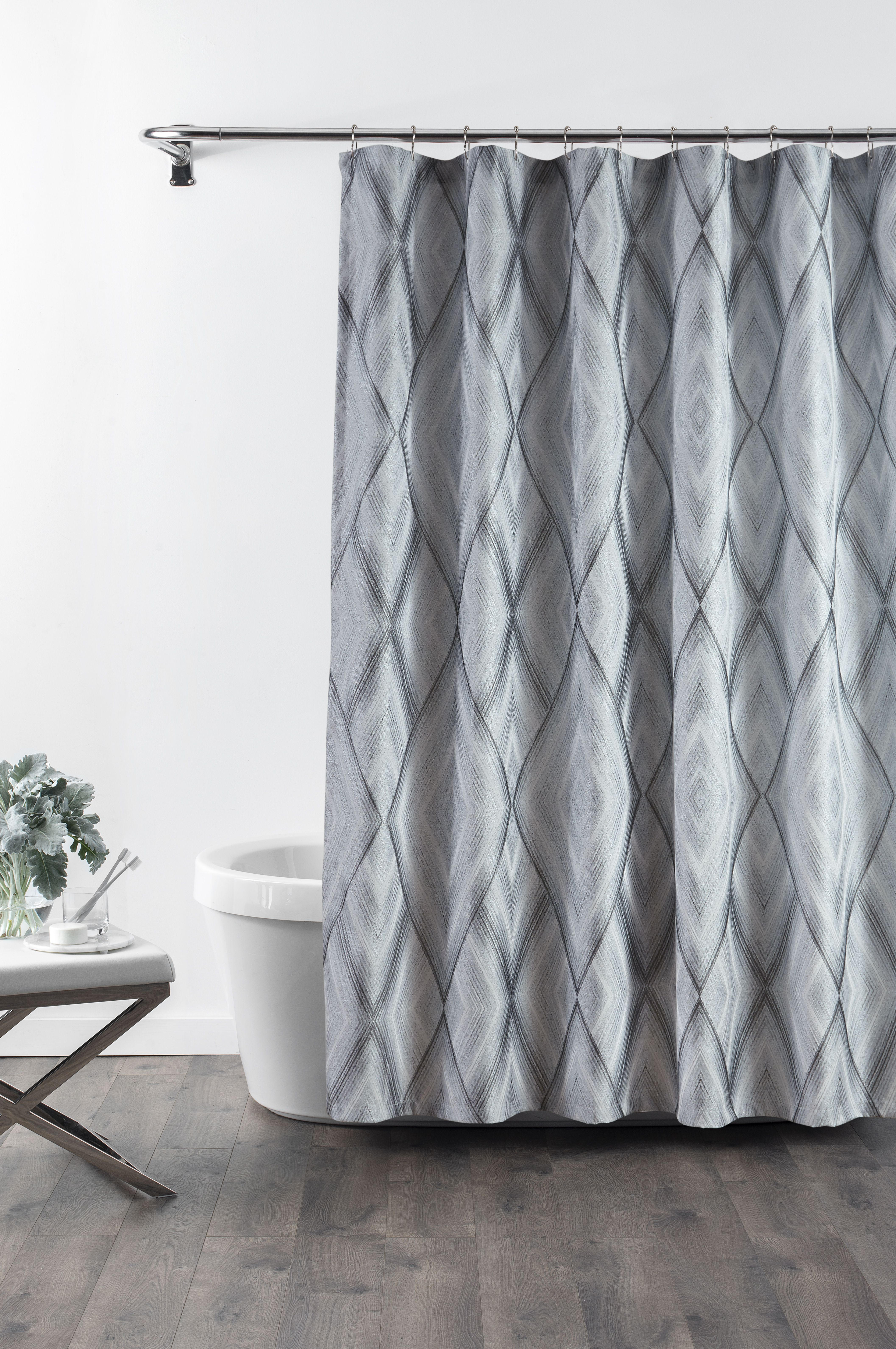 Echo Shower Curtain 72x72 Modern Shower Curtains Curtains