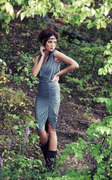 Collections | Beyond Vintage - lost in the jungle with a great dress #fashion