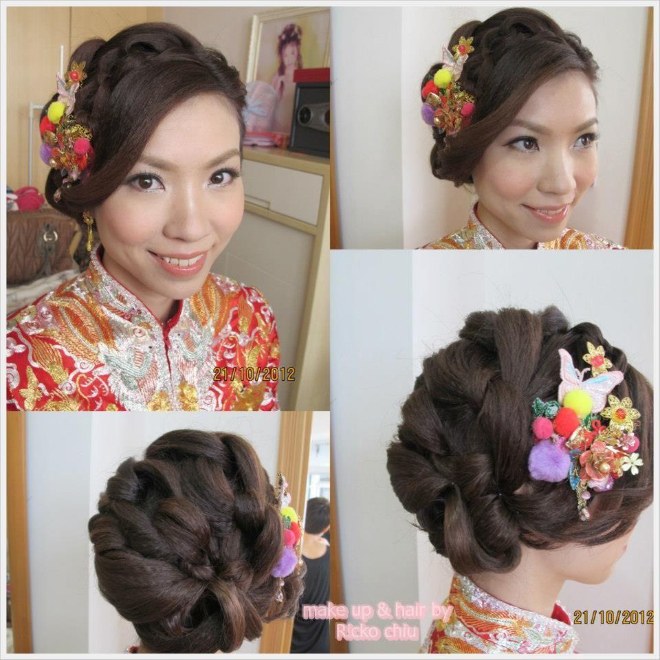 Wedding Hairstyle App: MUA: Ricko Chiu@Manna Make Up What App 6020 7010 查詢 Www