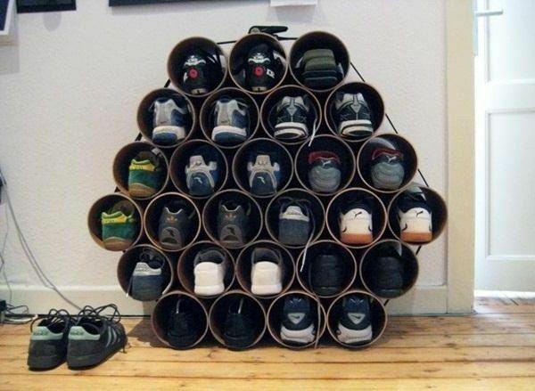 Selbermachen 35 Coole Schuhaufbewahrung Ideen Diy Schuhregal Schuhaufbewahrung Diy Schuhaufbewahrung