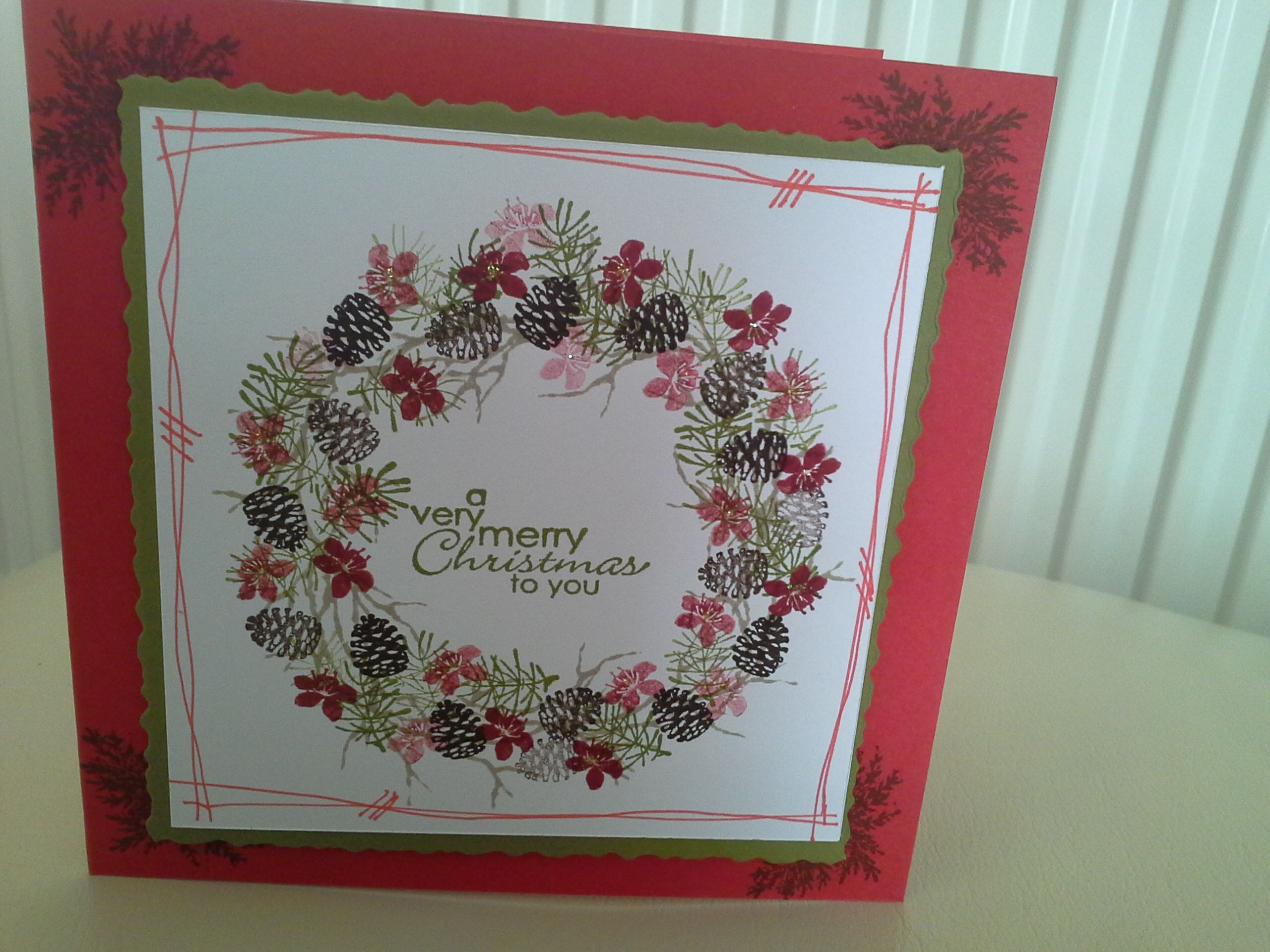 Rubber Stamp Tapestry Stamps Cardmania Xmas Cards