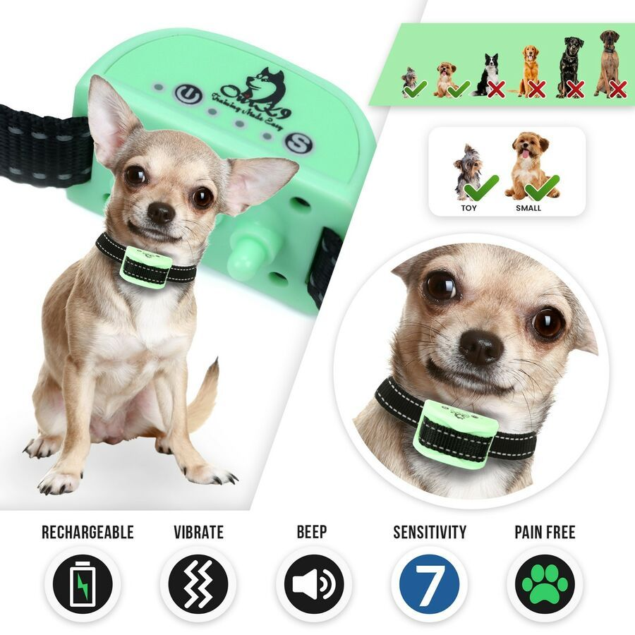 Bark Collar For Small Dogs Using Sound Beep And Painless