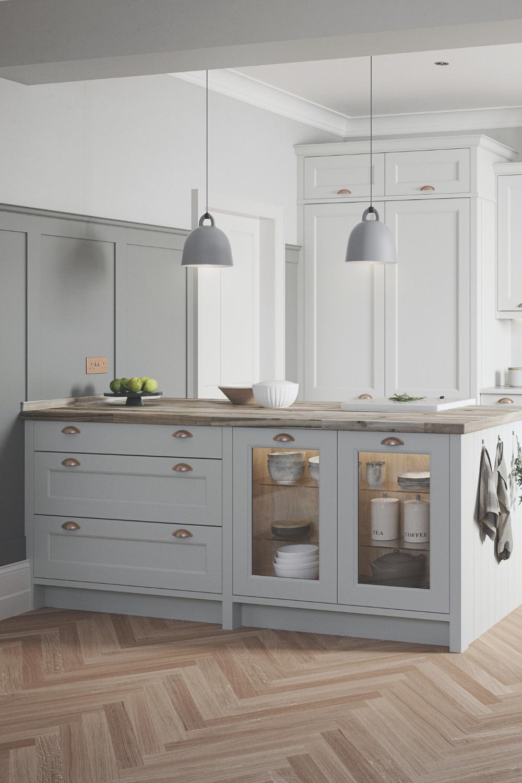 Photo of Broadway Luxury In-Frame Bespoke Shaker Kitchen Design & Installment i Essex