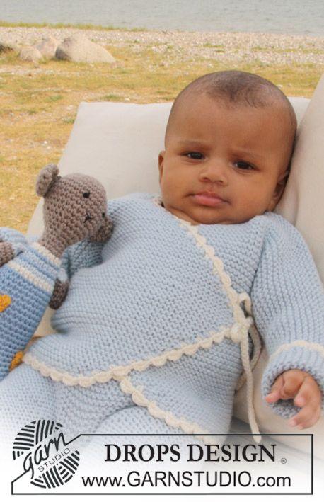 Photo of Boo Blue / DROPS Baby 20-24 – Gratis strikkeinstruksjoner fra DROPS Design