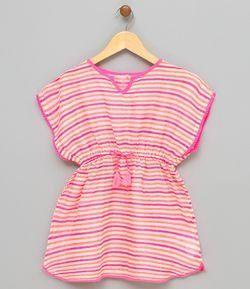 8d6e19744 Vestido Saída de Praia Infantil - Tam PP ao GG