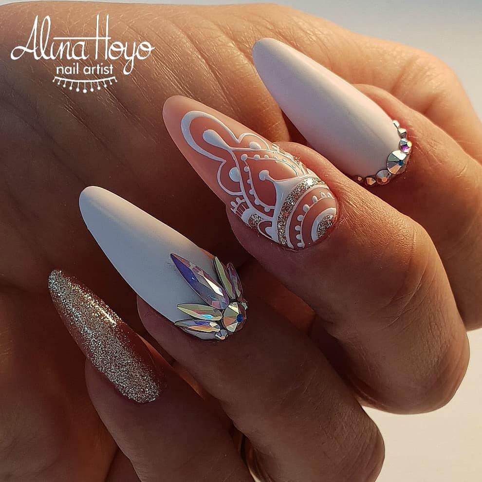 Pin by Salina Rush on Alina Hoyo Designs | Pinterest | Acrylic nail ...
