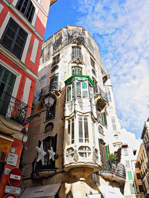 Palma De Mallorca Jugendstil Art Deco Art Nouveau Modernismo Mallorquin Schone Inseln Palma De Mallorca Tourismus