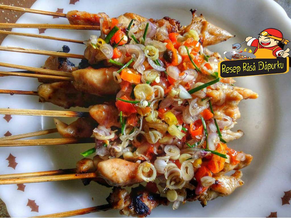 Resep Sate Taichan Bumbu Istimewa Resep Makanan Dan Minuman Masakan Simpel