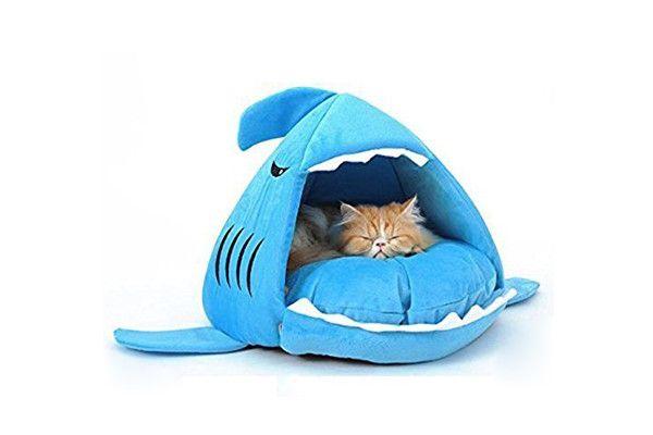 Lettino squalo per cani e gatti