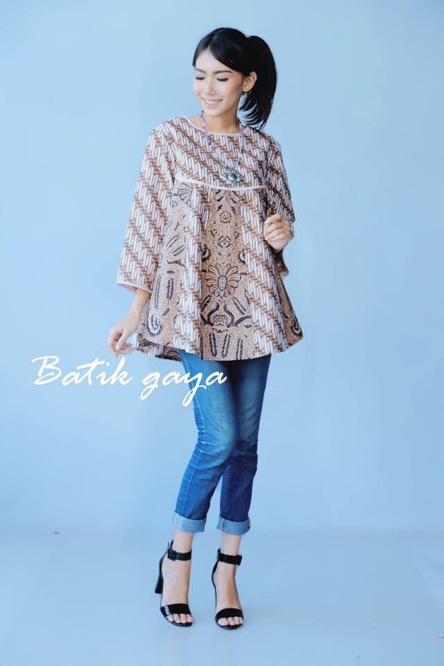 Model bolero batik muslim long dress