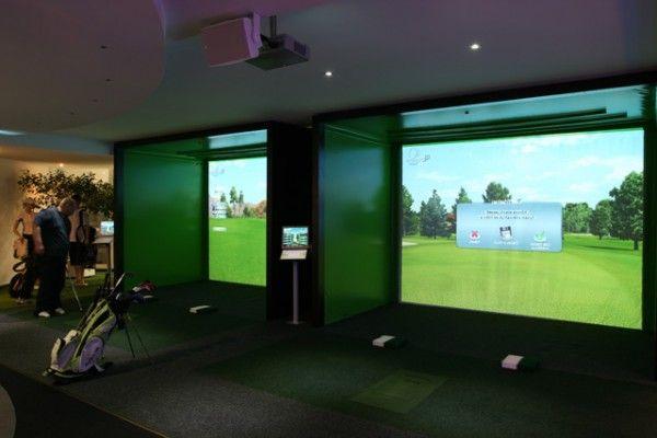 Golf Simulator Room Google Search Expo Event Ideas