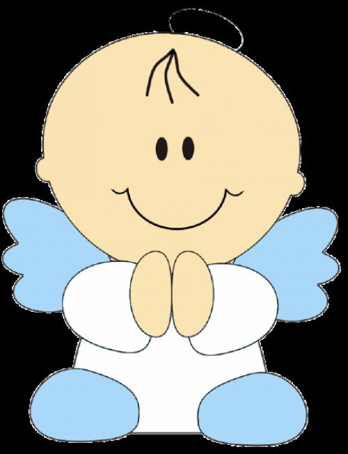 angelitos para bautismo … | dala | Pinterest | Angelitos