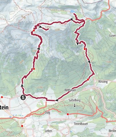 Karte Konigsetappe Austria Sinabell Klettersteig Und Silberkarsee Wandern In Ramsau Am Dachstein Ramsau Am Dachstein Klettersteig Wandern