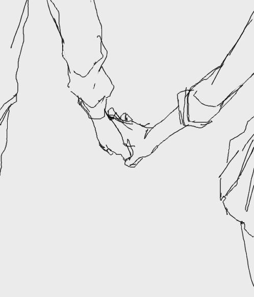 Art Holding Hands Tumblr