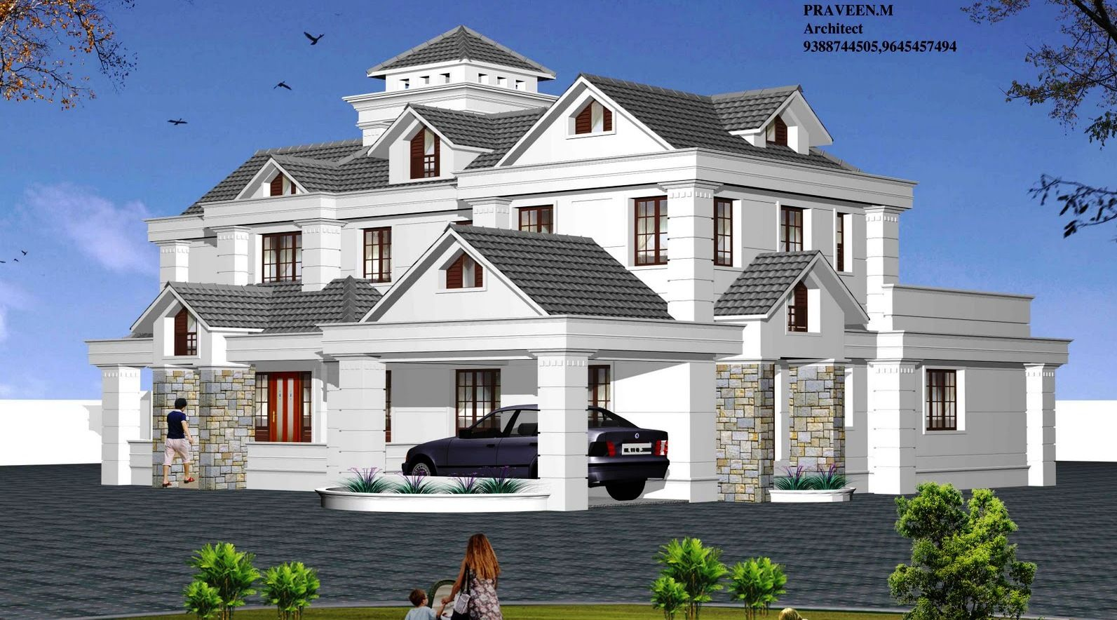 Architecture House Design Ideas 3000 sq ft kerala home designanas shameem architects