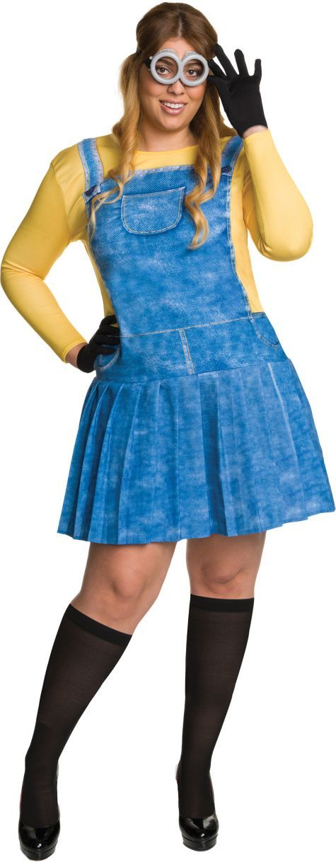adult minion costume plus size - minions - party city | halloween