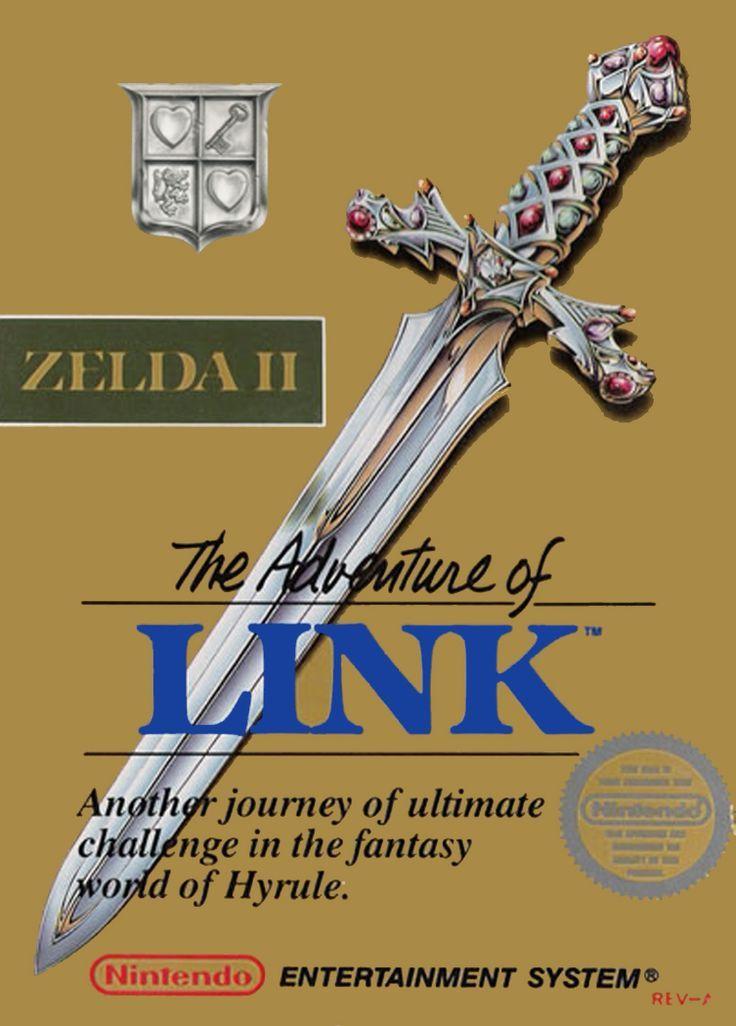 Zelda II: The Adventure of Link | Juegos retro, Nintendo, Afiches ...