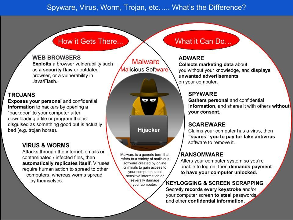Malicious Software Infographic Do you know what