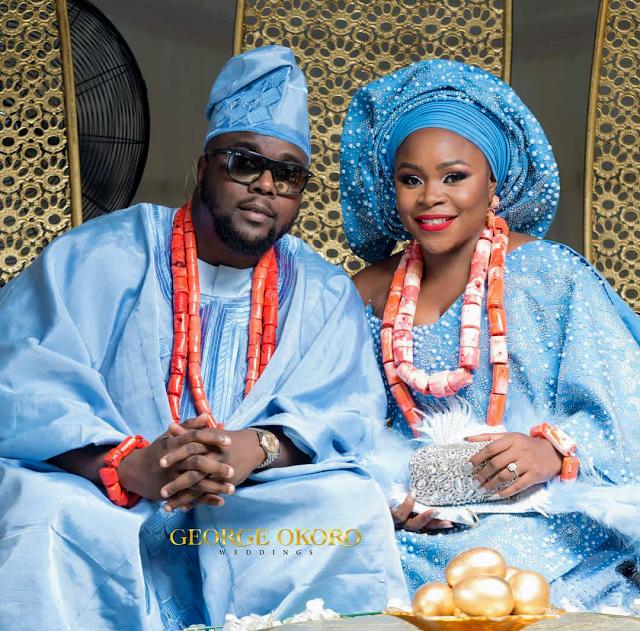 PDB WEDDINGS SINGER OMAWUMI WEDS HER BABYDADDY Yoruba