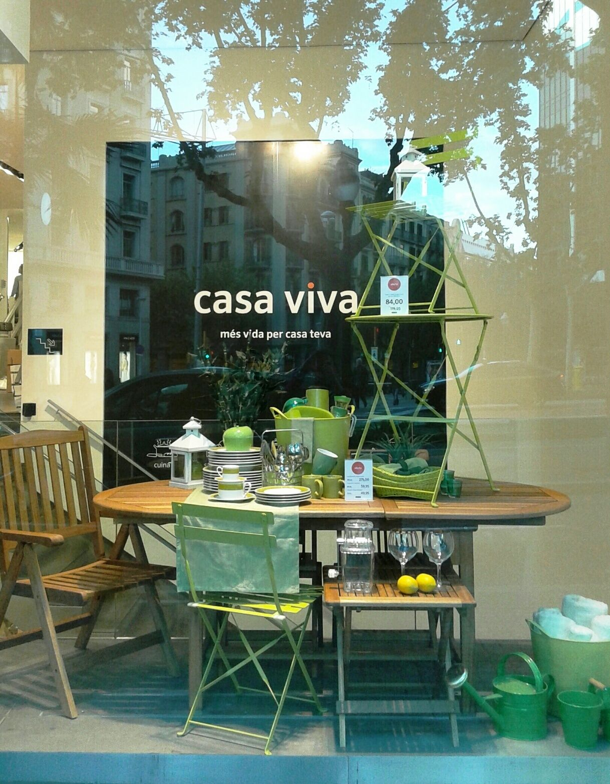 Inauguramos nueva tienda de casa viva en barcelona te - Casa viva decoracion ...