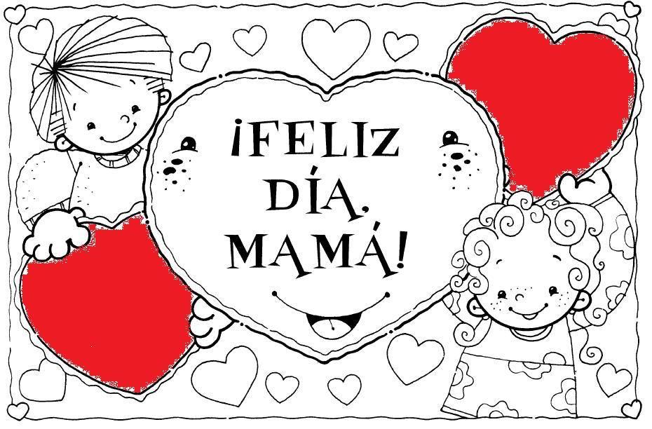 Las 15 Mejores Tarjetas Para El Dia De Las Madres Dibujos Del