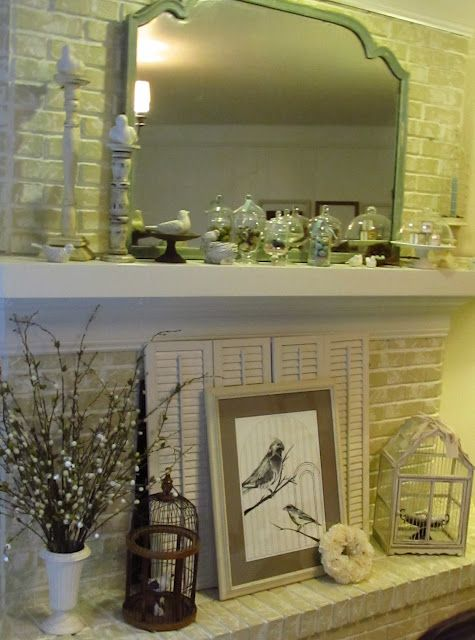 Idea To Cover Fireplace Opening For In Playroom Den