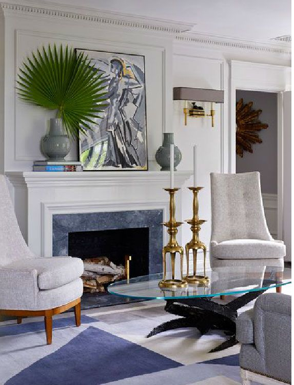Inspired by Jean-Louis Diniot Living rooms, Room and Interiors