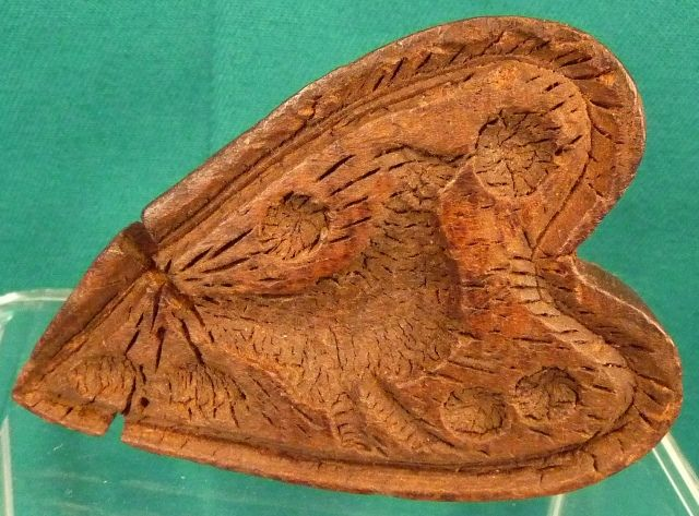 Maple sugar mold early th century shape
