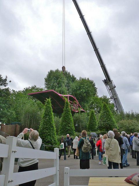 Diarmuid Gavin's Chelsea garden may be a little too impractical for the average garden...