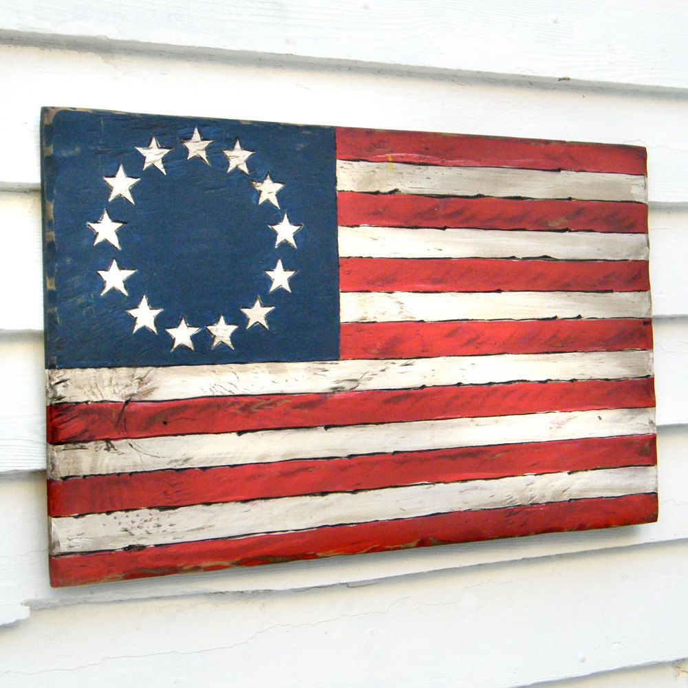 Us Flag Sign American 137 00 Via Etsy American Flag Wall Art Historical American Flags Vintage American Flag