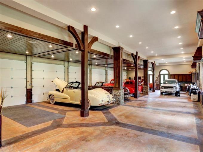 24 Car Collector S Garage Houston Texas Martha Turner