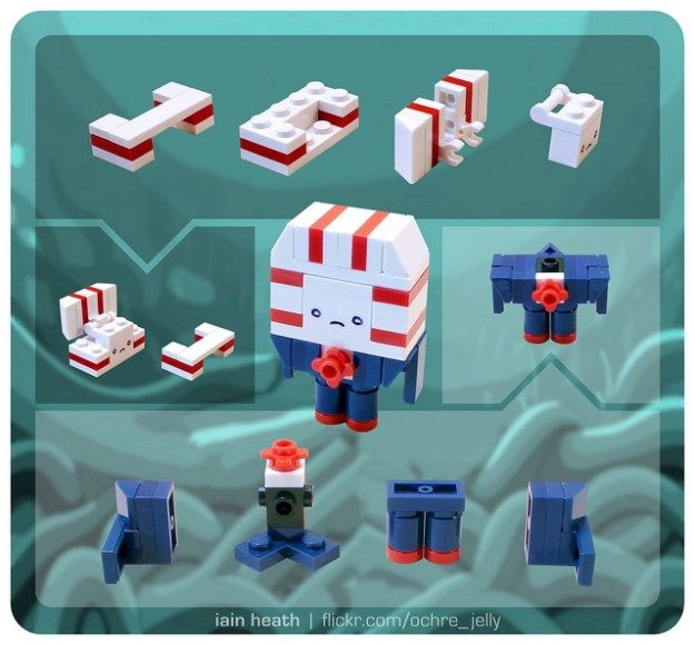 Slowly Cross Your Eyes And Build This Lego Peppermint Butler Fools