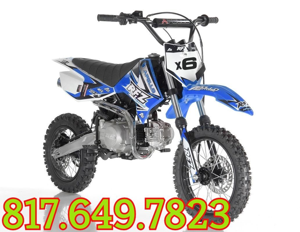 Apollo Db X6 125cc Fully Automatic 4 Stroke Air Cooled With Kick
