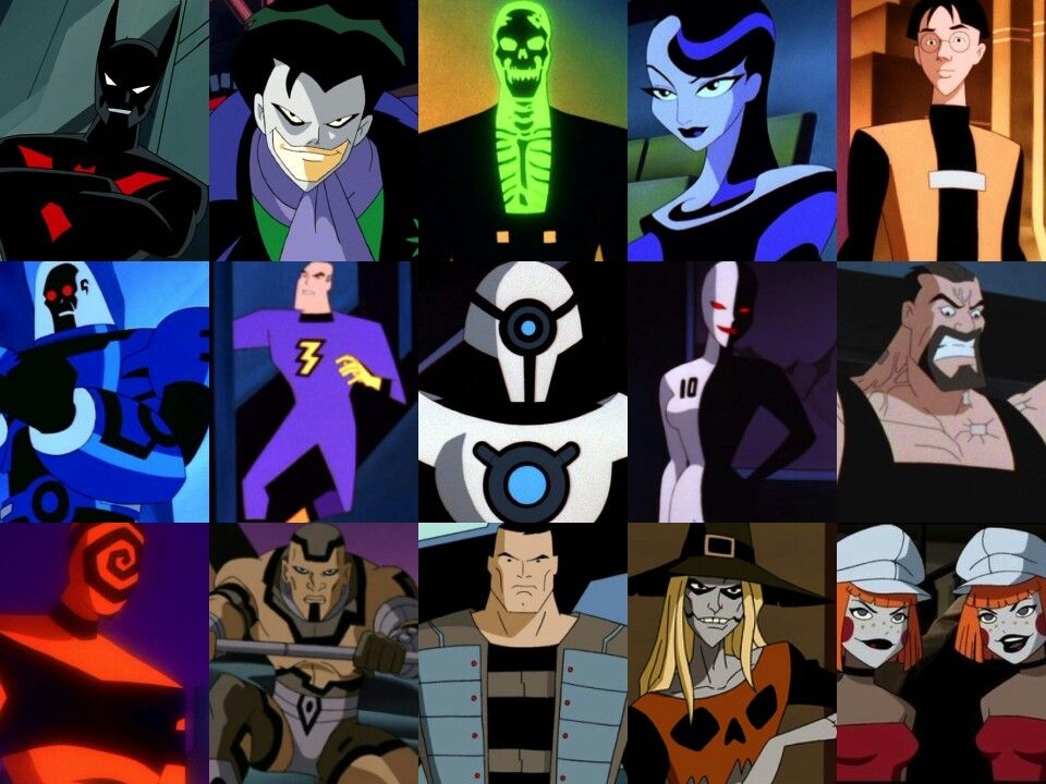 Batman Beyond Villains Batman: The Future(Bat...
