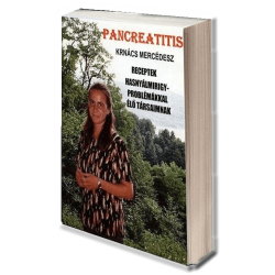 Pancreatitis-szel  (hasnyálmirigy-gyulladással) élők számára készült diétás szakácskönyv, zsír- és fűszerszegény ételek receptjeivel, vidám grafikákkal. Az emésztőrendszert kímélő ételek fogyókúrás diétákba is jól beépíthetőek.