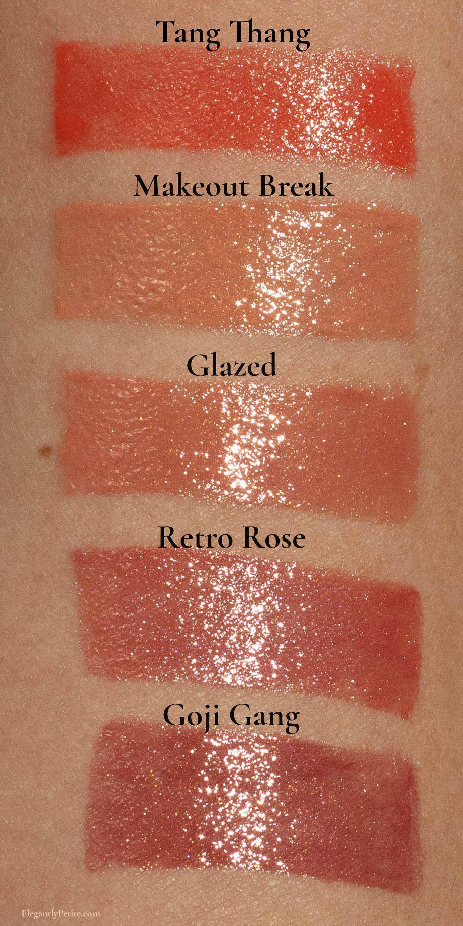 Fenty Beauty Slip Shine Lipstick Swatches Fenty Beauty Lipstick Review Lipstick Swatches