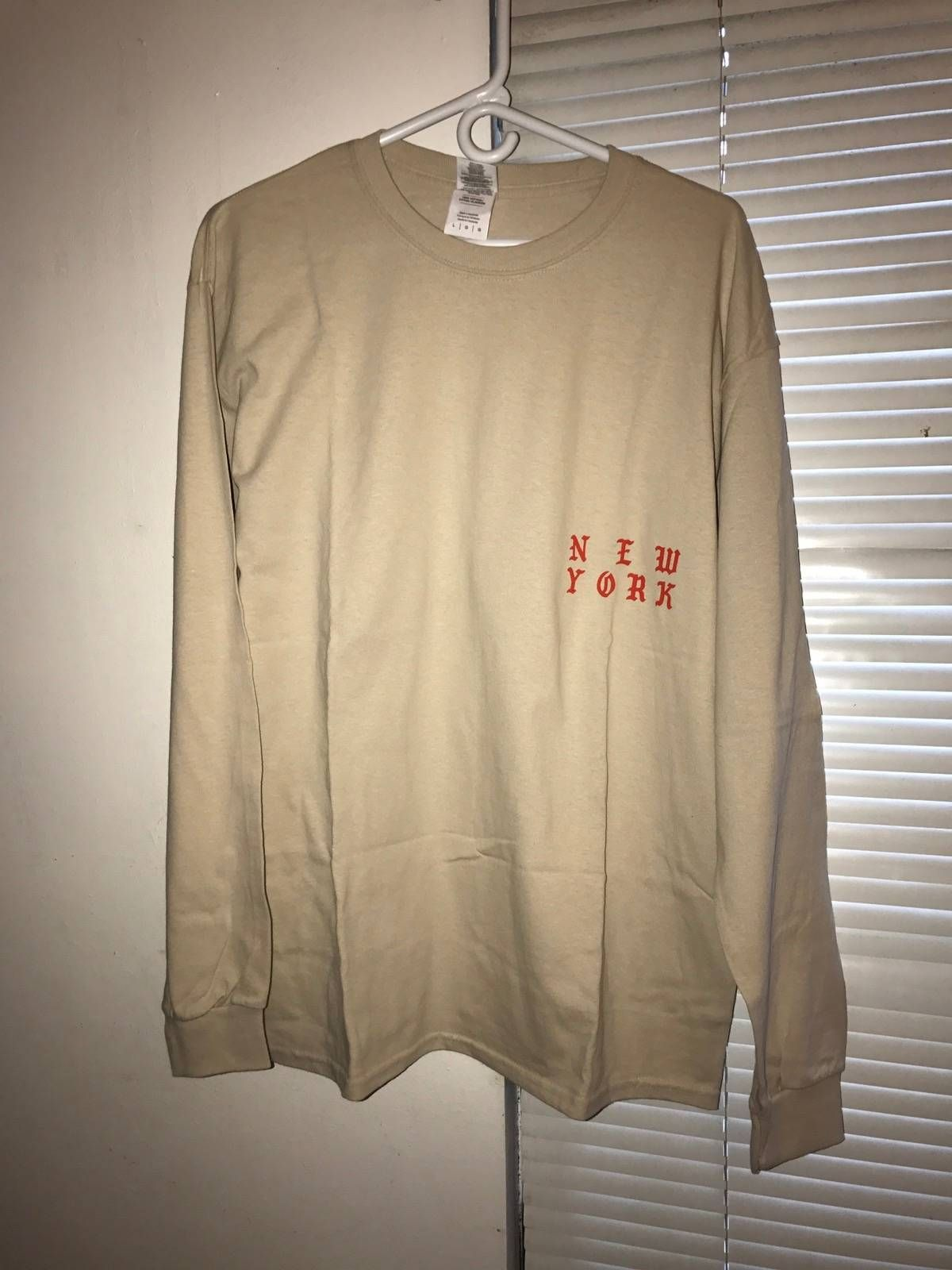 9178289d4f3a Kanye West Kanye Merch Long Sleeve T-shirt Size l - Long Sleeve T-Shirts  for Sale - Grailed