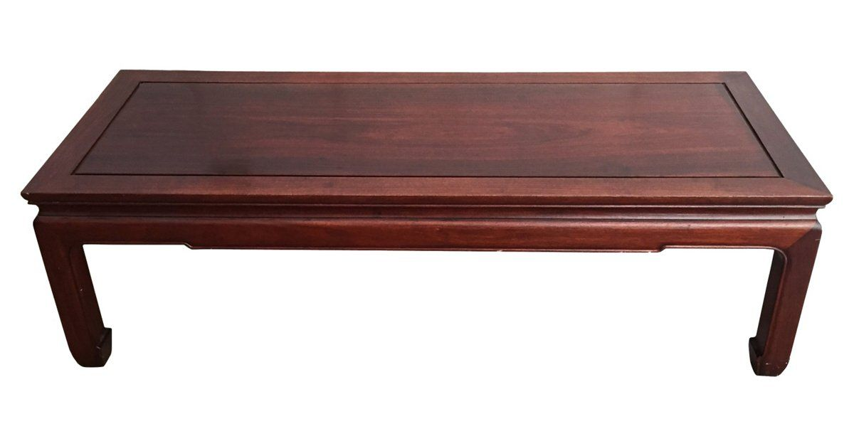 Chinese Ming Style Coffee Table Handmade Of Solid Rosewood