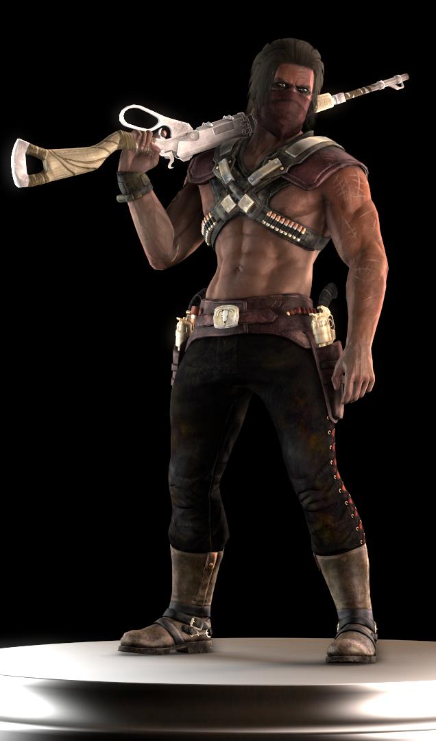 Erron Black Outcast Mortal Kombat Characters Mortal Kombat X Mortal Kombat