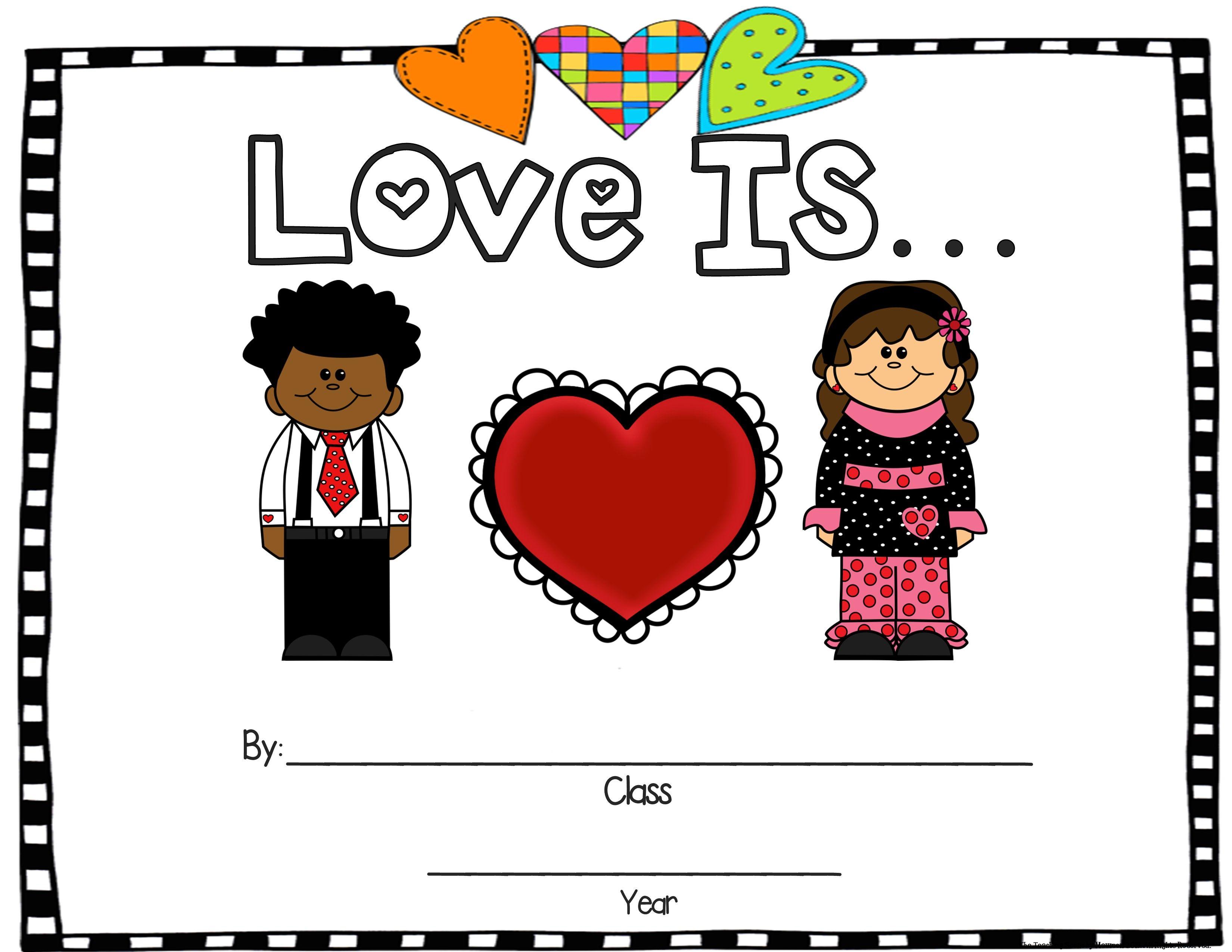February Literacy Unit Love Splat Love Monster