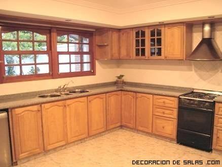 Muebles De Cocina Para Casa De Campo Buscar Con Google Cocina Madera Muebles De Cocina Cocinas