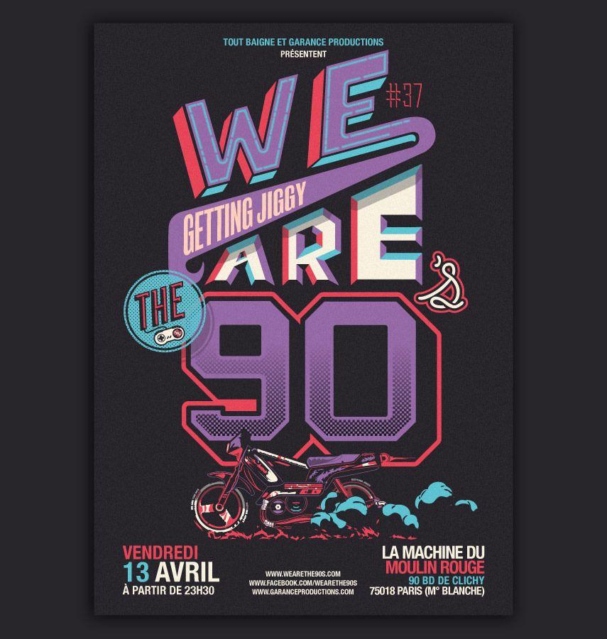 Design  Illustration Visuel Soire We Are The S  Par Atomike