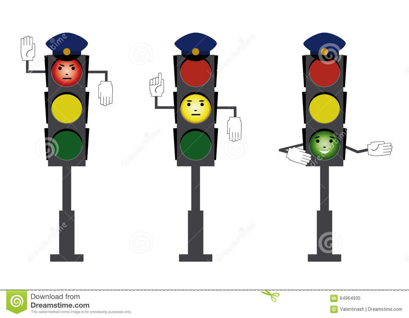 Drawing Of Traffic Rules