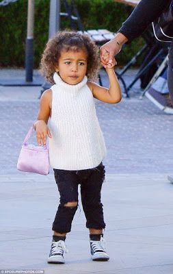 Check out North West, the little fashionista - http://www.thelivefeeds.com/check-out-north-west-the-little-fashionista/