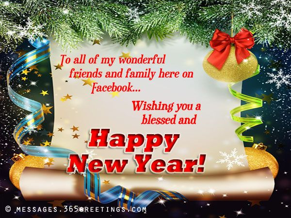 Happy New Year Messages For Facebook New Year Message New Year Wishes Messages Quotes About New Year