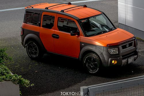2016 Honda Element >> Honda Of America Element Tokyonur Concept Project Rocket