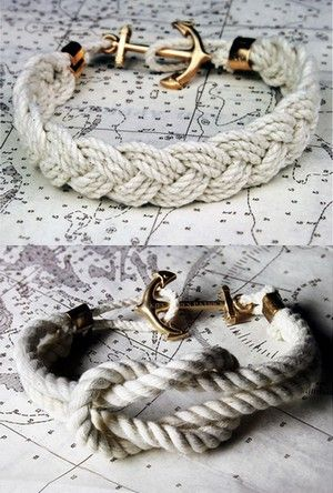 Kiel James Patrick Bracelets. I need these bad boys in my life! [Made in RI, too!]