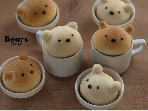 Panes de osos.